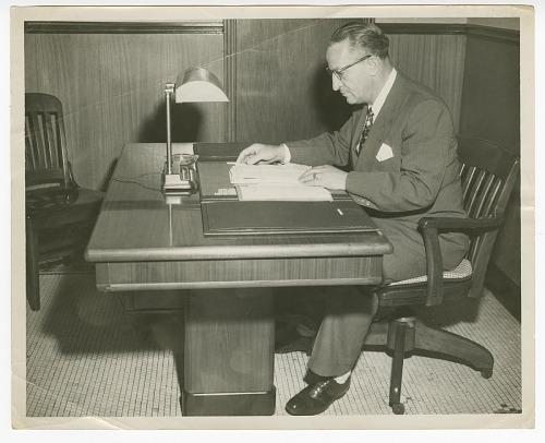 Image for Photograph of Gilbert DeLorme, Sr., Atlanta Life Insurance Company