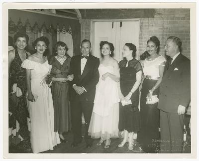 Photograph of an Atlanta Life Insurance Company party