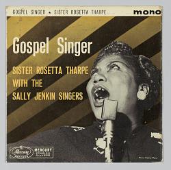 Gospel Singer Sister Rosetta Tharpe With The Sally Jenkins Singers