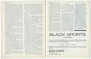 images for <I>Black Sports Magazine, Vol. 1, No. 1</I>-thumbnail 28