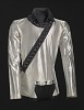 Thumbnail for Silver shirt worn by Michael Jackson during the 1987 Bad World Tour