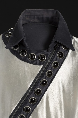 Image for Silver shirt worn by Michael Jackson during the 1987 Bad World Tour