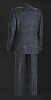Thumbnail for Black, navy, and teal suit worn by Luther Vandross