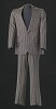Thumbnail for Brown pin-striped suit worn by Sammy Davis Jr.