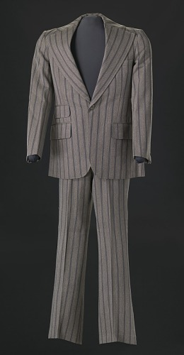 Image for Brown pin-striped suit worn by Sammy Davis Jr.