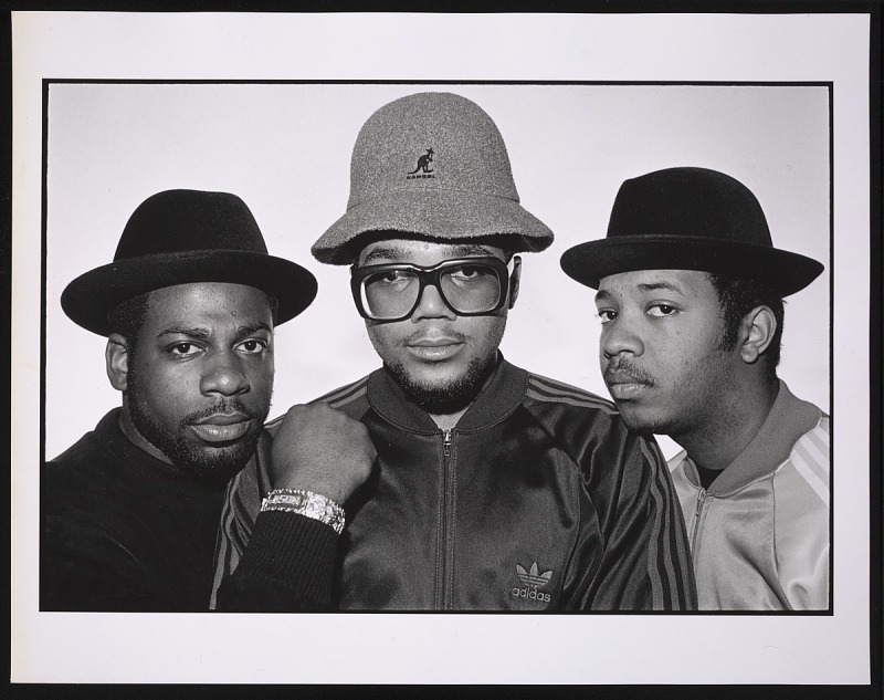Image 1 for Photograph of Run DMC and Jam Master Jay