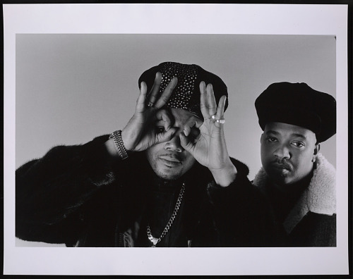 Image for Photograph of DMC and Run in NYC