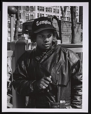 Photograph of Eazy-E in Union Square, NYC