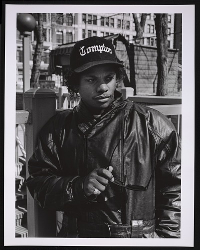 Image for Photograph of Eazy-E in Union Square, NYC