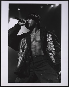 images for Photograph of LL Cool J at the Beacon Theater in NYC-thumbnail 1