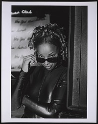 Photograph of Mary J. Blige at the NY Music Awards after party at China Club