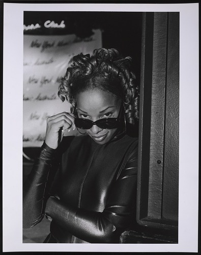Image for Photograph of Mary J. Blige at the NY Music Awards after party at China Club