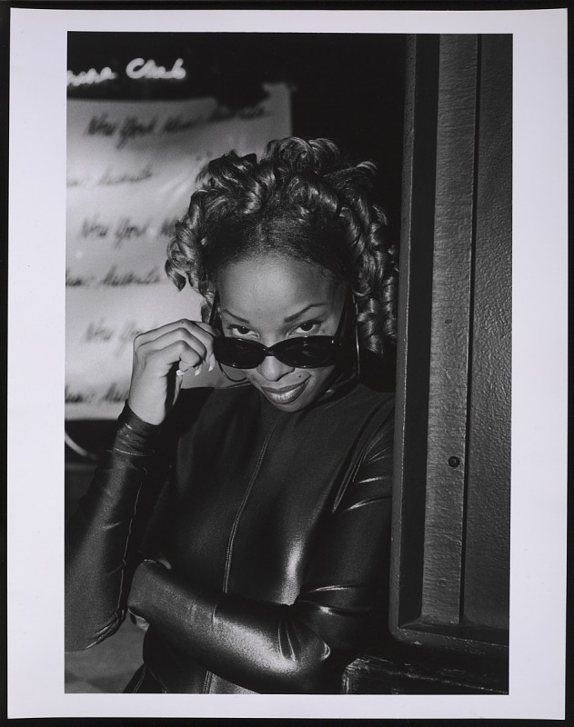 Image 1 for Photograph of Mary J. Blige at the NY Music Awards after party at China Club