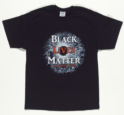 Image for T-shirt featuring Black Lives Matter graphic