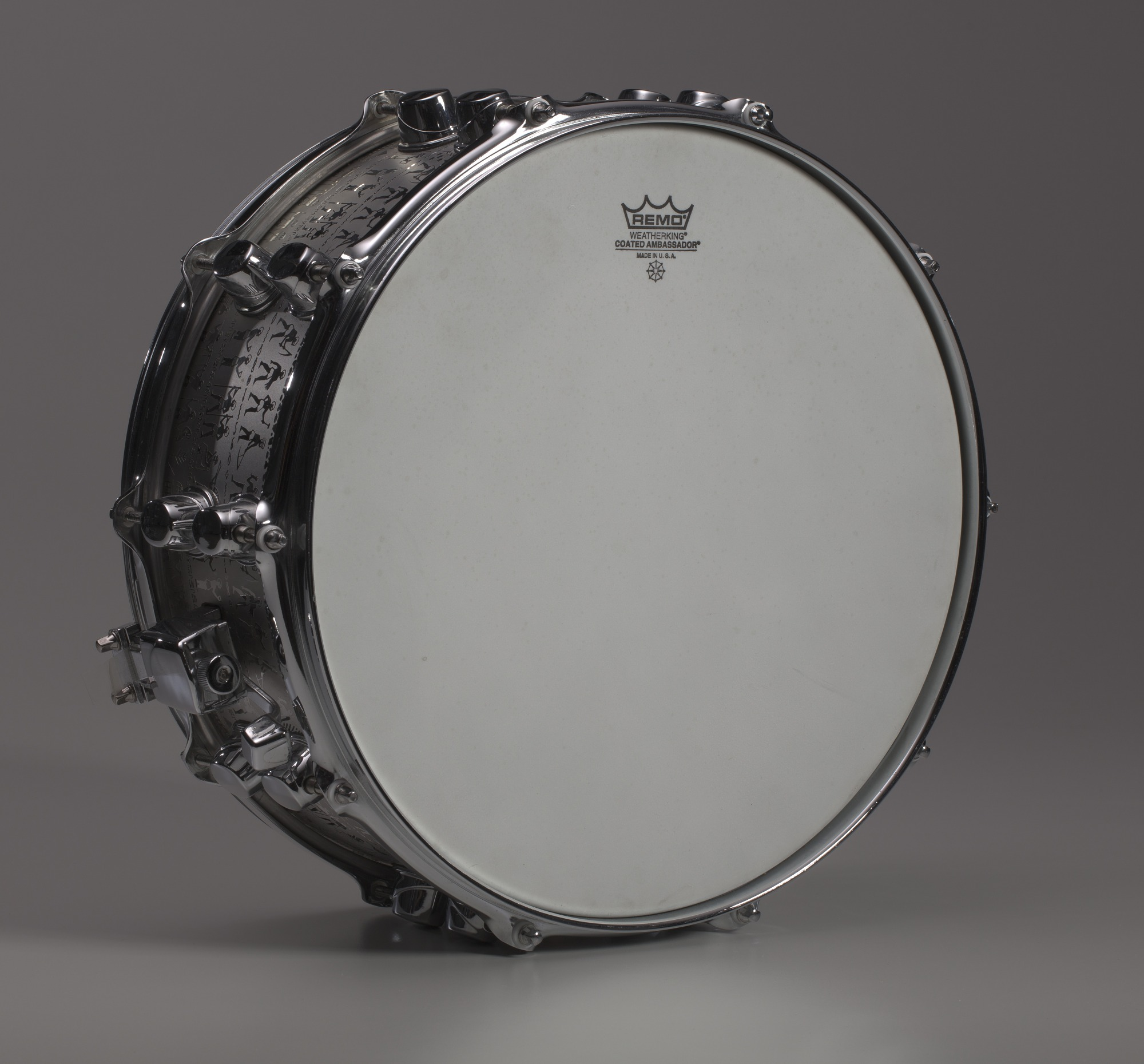 Image 1 for Custom snare drum owned by Will Calhoun