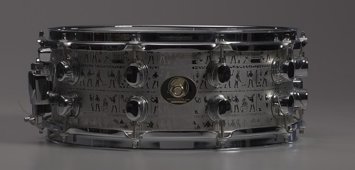 Image for Custom snare drum owned by Will Calhoun