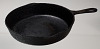 Thumbnail for Cast iron skillet owned and used by Beatrice Mack