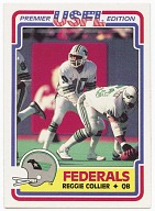 Image for Football trading card for Reggie Collier