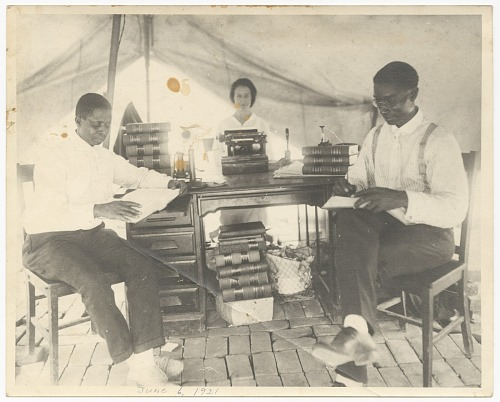 Image for Photograph of B.C. Franklin, I.H. Spears, and Effie Thompson