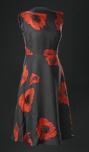 Image for Dress designed by Tracy Reese and worn by the First Lady in connection with the 50th Anniversary of the March on Washington