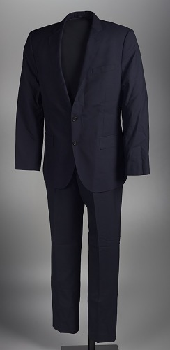 Image for Suit worn by Dr. Jamal Harrison Bryant to a protest in Ferguson, Missouri
