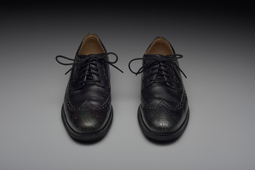 Image for Shoes worn by Dr. Jamal Harrison Bryant to a protest in Ferguson, Missouri
