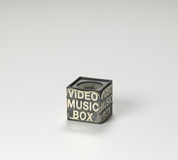 Microphone box used by Ralph McDaniels on the television show Video Music Box