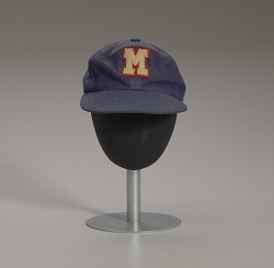 Baseball cap from the Memphis Red Sox