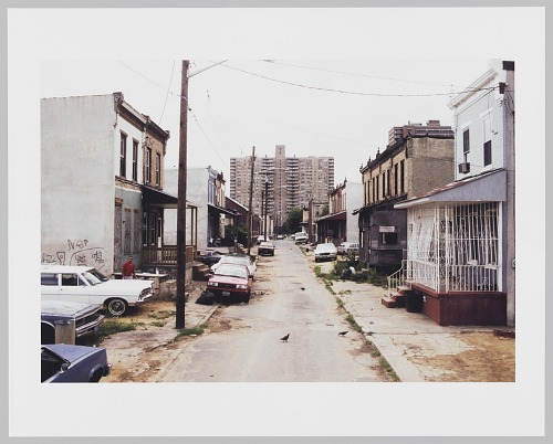 Image for View W. along Fern St. from 937, Camden, 1992