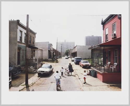 Image for View West Along Fern St. from N. 10th St., Camden, 1997