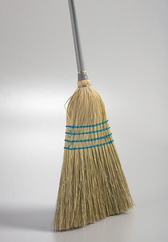 Image for Broom used by the community members to clean-up after Baltimore protests