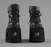 thumbnail for Image 2 - Black platform ankle boots worn by Bootsy Collins