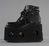 thumbnail for Image 3 - Black platform ankle boots worn by Bootsy Collins