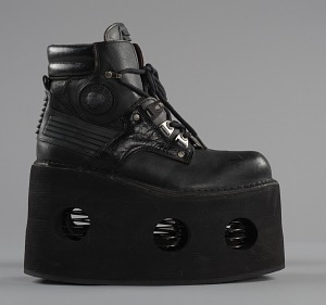 images for Black platform ankle boots worn by Bootsy Collins-thumbnail 5