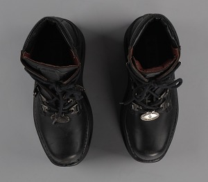 images for Black platform ankle boots worn by Bootsy Collins-thumbnail 7