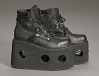 thumbnail for Image 9 - Black platform ankle boots worn by Bootsy Collins