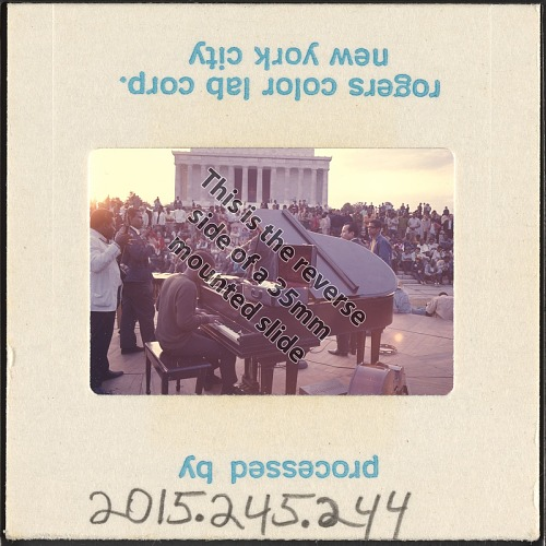 Image for Photographic slide of the Poor People's Campaign