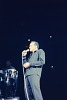 Thumbnail for Color slide of Harry Belafonte performing at a fundraiser at Boston Garden