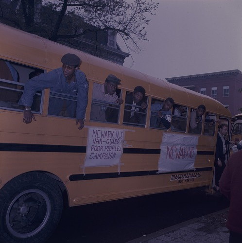 Image for Photographic transparency of the Poor People's Campaign