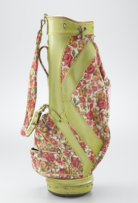 Golf bag used by Ethel Funches