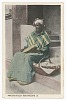 thumbnail for Image 1 - Postcard of a praline seller