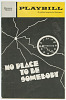 Thumbnail for Playbill for No Place To Be Somebody