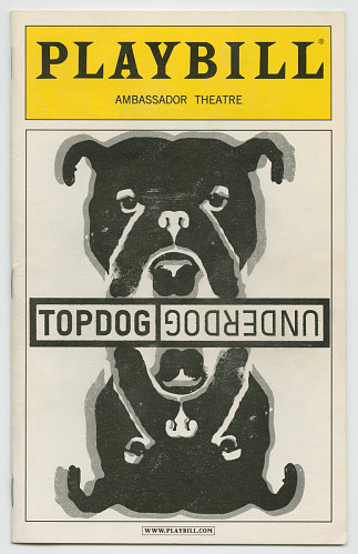 Image for Playbill for Topdog/Underdog