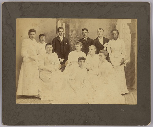Image for Class of 1892 Oberlin Academy Preparatory School