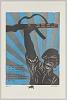 Thumbnail for Print of man raising an automatic rifle