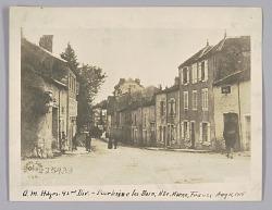 Q.M. Hdqrs. 92nd Div. - Bourbaine les Bain, Mte. Marne, France Aug 11, 1918