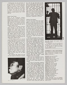 Image for Articles detailing the trial of South African activists