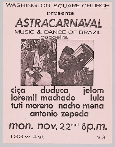 Image for Flyer advertising Astracarnaval