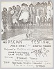 Thumbnail for Flyer advertising an African Festival featuring Asuo Gyebi and Jbofoj Tegare