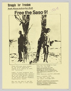 Image for Pamphlet regarding the SASO 9